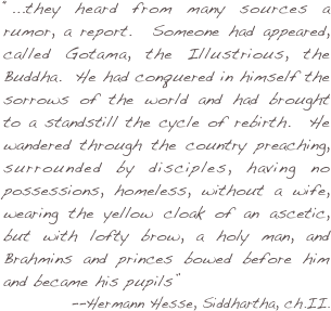 siddhartha philosophy essay Struggling with the themes of hermann hesse's siddhartha we've got the quick and easy lowdown on them here.